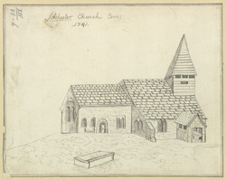 Silchester Church Com: 1741